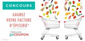 concours Trouve ton coupon - gagne ton épicerie !